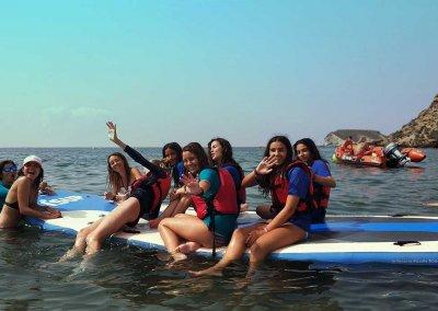 Hello Summer Camp Campamento de Inmersión en Inglés con actividades Náuticas en Calarreona, Águilas (Murcia)